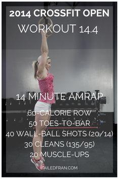 6e8543f465 The 2014 Reebok CrossFit Games Open Wod 14.4 - Calorie Row
