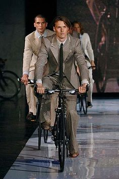 Armani & Bianchi Bikes...match made in heaven