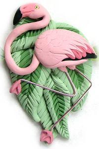 CUSTOM ART BIRD BIJOUX, hiboux, Flamingos, mainates, Hawkheaded Parrot, Lineolated Perruche, Penguins, plongeons, boucles d'oiseaux exotiques, PINS, COLLIERS & MORE @ ParrotJewelry.com