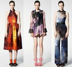 Christopher Kane Spring/Summer 2011 space collection.