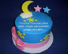gender reveal cake - Google Search