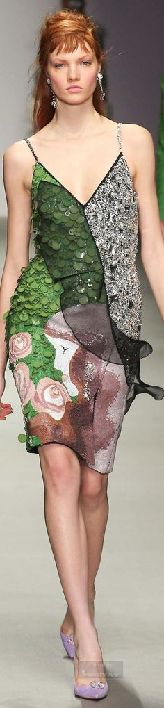 fashion ; Holly Fulton.Fall 2015.