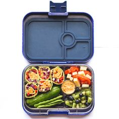 Healthy lunchbox ideas for kids. Balanced and packed with veggies.