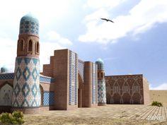 Мечеть #3dvisualization #architecture