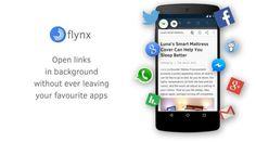 Lee varios artículos a la vez sin salir de una app, al mismo tiempo ahorrando en internet con Flynx