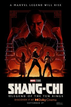 Return to the main poster page for Shang-Chi and the Legend of the Ten Rings (#14 of 14) Marvel E Dc, Marvel Comic Universe, Disney Marvel, Marvel Cinematic Universe, Marvel Movie Posters, Cinema Posters, Marvel Movies, The Conjuring, Marvel Studios Movies