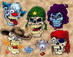 New Skull Flash by MonsterInk