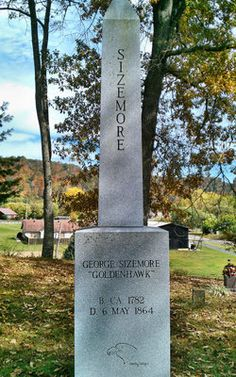 George Goldenhawk Sizemore This is my 3rd great grand-father