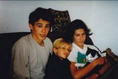 Flashback James Franco and Dave Franco and their brother