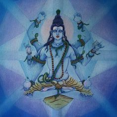 Happy Shivratri! Om Nama Shivaya! #sacredart #sacredmotherarts painting by…