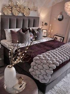 Glam Bedroom, Room Ideas Bedroom, Home Bedroom, Bedroom Decor, Master Bedroom, Decoration Design, Luxurious Bedrooms, My New Room, Beautiful Bedrooms