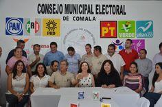 Instalación del CME de Comala para el Proceso Electoral 2014-2015