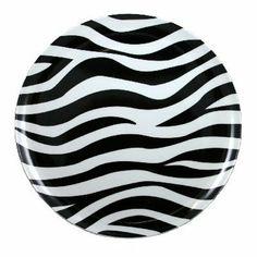 Momentum Brands Zebra Melamine Dinner Plate, 11 Inch (Pack of 4) by Momentum Brands, http://www.amazon.com/dp/B008ZHTQDC/ref=cm_sw_r_pi_dp_IEPQqb0RJHV17