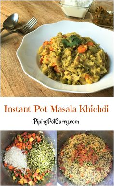 One pot vangi bath recipe using preethi electric pressure cooker indian lentil vegetable khichdi recipe instant pot pressure cooker forumfinder Images