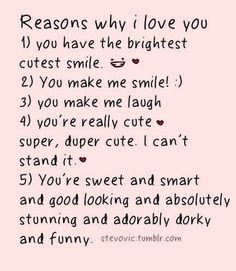 10 Best 100 Reasons Why I Love You Images Love You Boyfriend 52