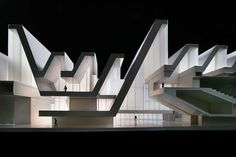 Palacio de Congresos, Expo Zaragoza, Spain, by Nieto Sobejano Arquitectos