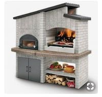 An outdoor kitchen can be an addition to your home and backyard that can completely change your style of living and entertaining. Earlier, barbecues temporarily set up, formed the extent of culinary attempts, but now cooking outdoors has become an. Wood Oven, Wood Fired Oven, Pizza Oven Outdoor, Outdoor Cooking, Backyard Projects, Outdoor Projects, Brick Grill, Bbq Area, Summer Kitchen