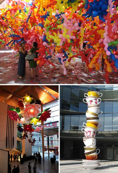Coming across the work of South Korean artist Choi Jeong-Hwa instantly made me happy and revived my creative spirit. I spent some time going through all his work on his website which is insanely cool, bright and upbeat.