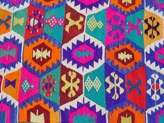 VINTAGE Turkish Kilim Rug Carpet Handwoven Kilim by sofART on Etsy