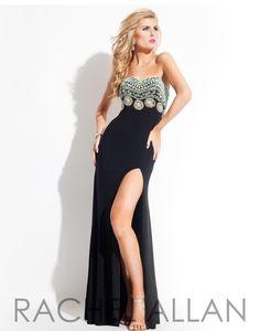 Kaylie BoettnerRachel Allan #6836 black Size 4,Black strappy size9Gray, GROUP ONE