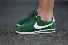 Nike Cortez Khaki And Green