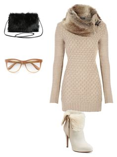 """""""Winter"""" by ksoper2951 on Polyvore featuring Jennifer Lopez, Torrid and Wildfox"""