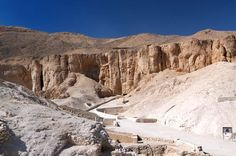 The Valley of the Kings.  Luxor, Egypt.