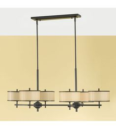 Murray Feiss Casual Luxury 6 Light Chandelier in Dark Bronze  F2345/6DBZ #murrayfeiss