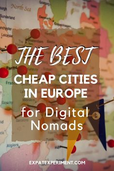 We love the freedom working from our laptops gives us. Here's what we think are the best cheap cities in Europe for digital nomads. Living In Europe, Cities In Europe, Europe Destinations, Tri Cities, Travel Europe Cheap, Budget Travel, Travel Tips, Travel Ideas, Travel Pro