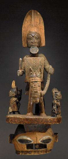 Yoruba mask Epa