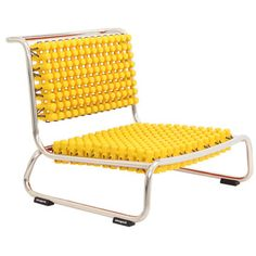 Gopi Chair Yellow, £105, now featured on Fab.