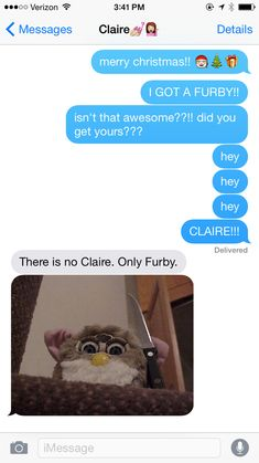 On the most perfect of gifts. | 13 Texts You Definitely Would've Sent In The '90s