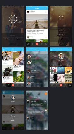 Mobile App UI Design Leading Mobile App Development Company in Australia & India Ios App Design, Iphone App Design, Iphone App Layout, Application Ui Design, Conception D'applications, Mobile App Ui, Mobile App Development Companies, Apps, Bass Fishing