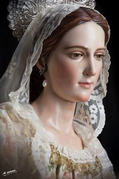 Beautiful Mother Mary by Martin Nieto