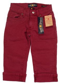 Lucky Brand Jeans Toddler Girls CHARLIE Colored Denim Pants Berry 4T NEW $49.50 #LuckyBrand #Jeans #Everyday