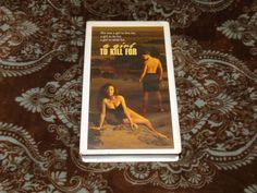 A Girl to Kill For (VHS, 1990) Rare HTF OOP RCA! Karen Medak Nude! *NOT ON DVD*