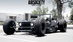 Chopped And Dropped 1945 Jeep Willys Rat Rod From Randy Ellis Design