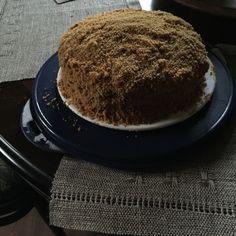 Traditional Russian honey cake