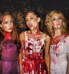 Jennette McCurdy and Ariana Grande show off their Halloween costumes!