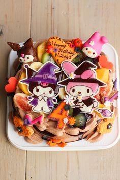 マイメロちゃんとくろみちゃんのお誕生日ケーキの画像:coupe-feti