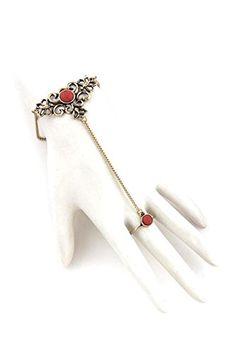 Slave Bracelet, Ring Bracelet, Bracelets, Hand Chain, Fashion Jewelry, Amazon, Rings, Hair, Accessories