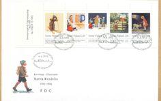 Poststamps Preston, Martini, Finland, Booklet, Gd, Children, Illustration, Stamps, Cards
