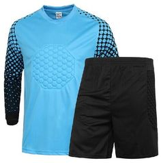 41dd4ae85 High Quality Breathable Quick Dry Children  Goalkeeper Sets Soccer Goalie  Clothing Uniforms Long Sleeve Goalkeeper