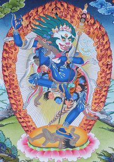 Simhamuka - Lion Faced Dakini