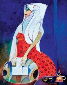 Fuente de la foto: Aquí       MULHER RENDEIRA  Autor: Adelmir Martins (1922-2006)
