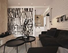 Aranżacje wnętrz - Salon: Apartament WBW - Średni salon, styl minimalistyczny - ELEMENTY. Przeglądaj, dodawaj i zapisuj najlepsze zdjęcia, pomysły i inspiracje designerskie. W bazie mamy już prawie milion fotografii!