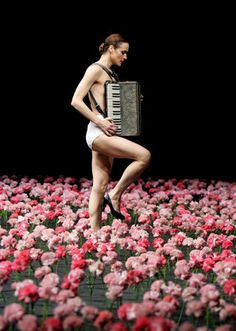 """Sacre du Printemps"" one of my favorite scenography - Pina Bausch"