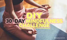A mindfulness challenge promotes the practice of daily activities that reduce stress and anxiety, improve performance and productivity, and increase happiness with a greater sense of peace, presence and overall well-being. What Is Mindfulness, Mindfulness Practice, Mindfulness Meditation, Practice Yoga, Anxiety Relief, Stress And Anxiety, Anxiety Disorder Test, Free Yoga Videos, Meditation Exercises