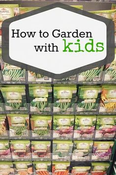 How to garden with kids - lots of tips and advice!