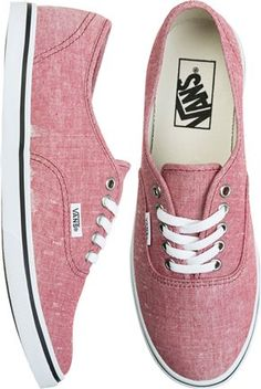VANS AUTHENTIC LO PRO SHOE  Just bought a pair similar to these in a multicolour and love them. :)